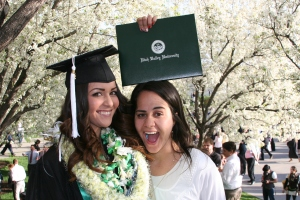 She finished! Utah Valley University class of 2103